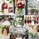 Greenhouse & Garnet Botanical Wedding Inspiration