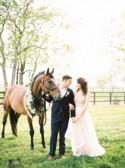 Romantic Southern Equestrian Inspired Wedding Ideas - Wedding Sparrow