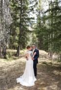 Intimate Mountain-View Wedding in Banff