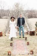 Bohemian Wildflower Wedding Inspiration