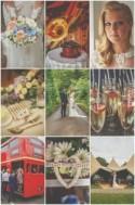 English Secret Garden Wedding (With a Tipi!)
