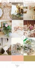 Romantic Rose Gold Wedding Inspiration