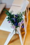 Bohemian Wonderland Purple & Blue Tea Party Wedding - Whimsical...