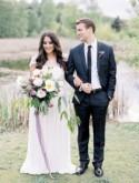Amethyst Inspired Outdoor Wedding Ideas - Wedding Sparrow