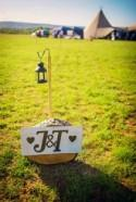 Tipis & Camping Rustic Post-Wedding Free Flowing Celebration Party...