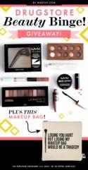 Drugstore Beauty Binge Giveaway!