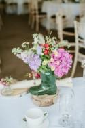 Glastonbury Festival Inspired Wedding