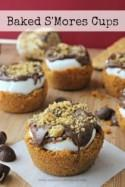 Baked S'Mores Cups Recipe