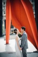 Colorful Wedding At Floating World Gallery