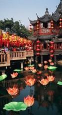 A Tea House In Shanghais Yuyuan Garden Print By Justin Guariglia