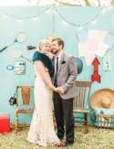 Wes Anderson Inspired Backyard Wedding: Sarah + Corbin