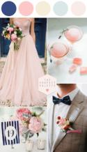 """Blush Meets Blue And They Say """"I Do"""""""