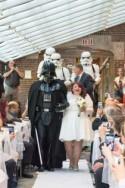 When Star Wars and Back to the Future met for Rachel & Matthew's wedding