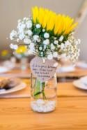 Relaxed Outdoor Tipi Sunflower Wedding with Child Naming Ceremony...