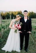 Willamette Valley Vineyard Wedding Shoot