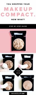 You Dropped Your Makeup Compact. Now What?