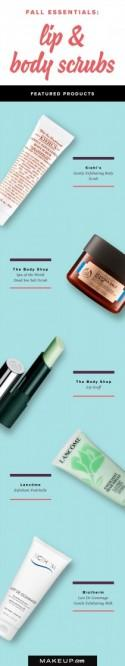 Fall Essentials: Lip & Body Scrubs