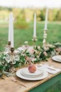 Southern Peach Orchard Styled Shoot