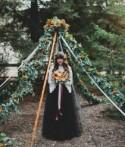 Enchanted Halloween Wedding Inspiration