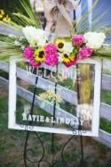 These two brides celebrated a sunflowery rustic wedding (with an extra special reading)