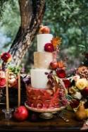 Fall Wedding Inspiration with Berries