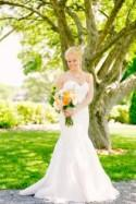 Real Wedding: Bright and Bold with Turquoise and Orange