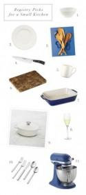 Williams-Sonoma Registry Tips for a Small Kitchen - Snippet & Ink