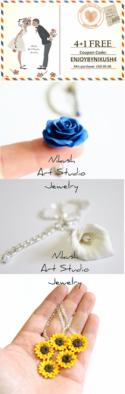Timeline Photos - Nikush Jewelry Art Studio - unique sculptural jewelry in floral design