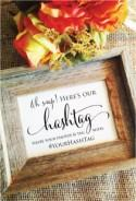Rustic wedding sign wedding hashtag sign oh snap here's our hashtag wedding decoration (FrameNOT included)