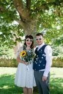 Cute & Crafty Budget Polka Dot Village Hall Wedding - Whimsical...