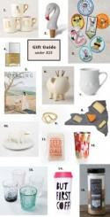 Gift Guide under $25