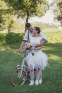 Do-It-Yourself Camping Wedding in Hungary