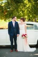 Stylish and Light Fall Wedding