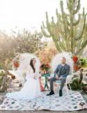 Desert Wedding Inspiration at Old Cactus Garden in Balboa Park