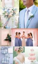 Serenity Blue & Rose Quartz Wedding - Polka Dot Bride