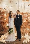 Industrial Candlelit Wedding Inspiration - Polka Dot Bride