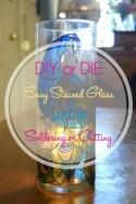 DIY or DIE: Easy Stained Glass without the Cutting or Soldering - The Broke-Ass Bride: Bad-Ass Inspiration on a Broke-Ass Budget