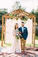 Floral Inspired Treehouse Wedding