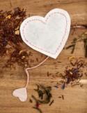 DIY Tutorial - Valentine's Heart Shaped Tea Bags