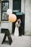 Minimalist Wedding at an Arts Warehouse