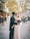Red lips and rock 'n' roll: a vintage glam wedding at one of Melbourne's oldest pubs