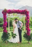 Cool, Colourful, Gorgeous Hawaiian Wedding