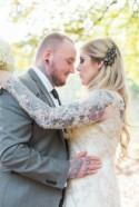 Glamorous Autumn Wedding with a Tattooed Bride and Groom