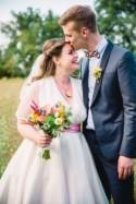Colourful, Kitsch and Retro-Inspired Wedding in France