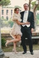 Traditional Italian Wedding Turned Gatsby-Style Soiree - Bridal Musings Wedding Blog