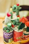 These cactus can favors are the chic and easy favor you're looking for