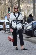Get the Look: Paris Fashion Week Steet Style at Chloé and Balmain