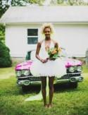 Fun Neon Nashville Wedding: Megan + Jesse