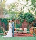 Romantic Bohemian Texas Wedding: Adriana + Chris