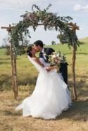 Country Tallis Winery Wedding - Polka Dot Bride